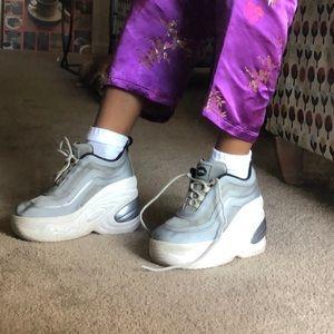 Shoes - Vintage Platform Sneakers